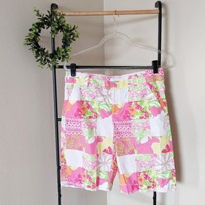 Lilly Pulitzer | Resort Fit Multi Patchwork Shorts